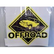 "Наклейка ""Offroad"" 12х12 см"
