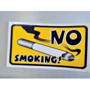 """Наклейка """"No smoking"""" 175х100 мм"""
