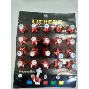 Болты декоративные красные М6