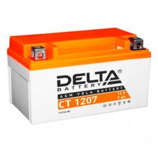 Аккумулятор 12v 7ah DELTA CT 1207